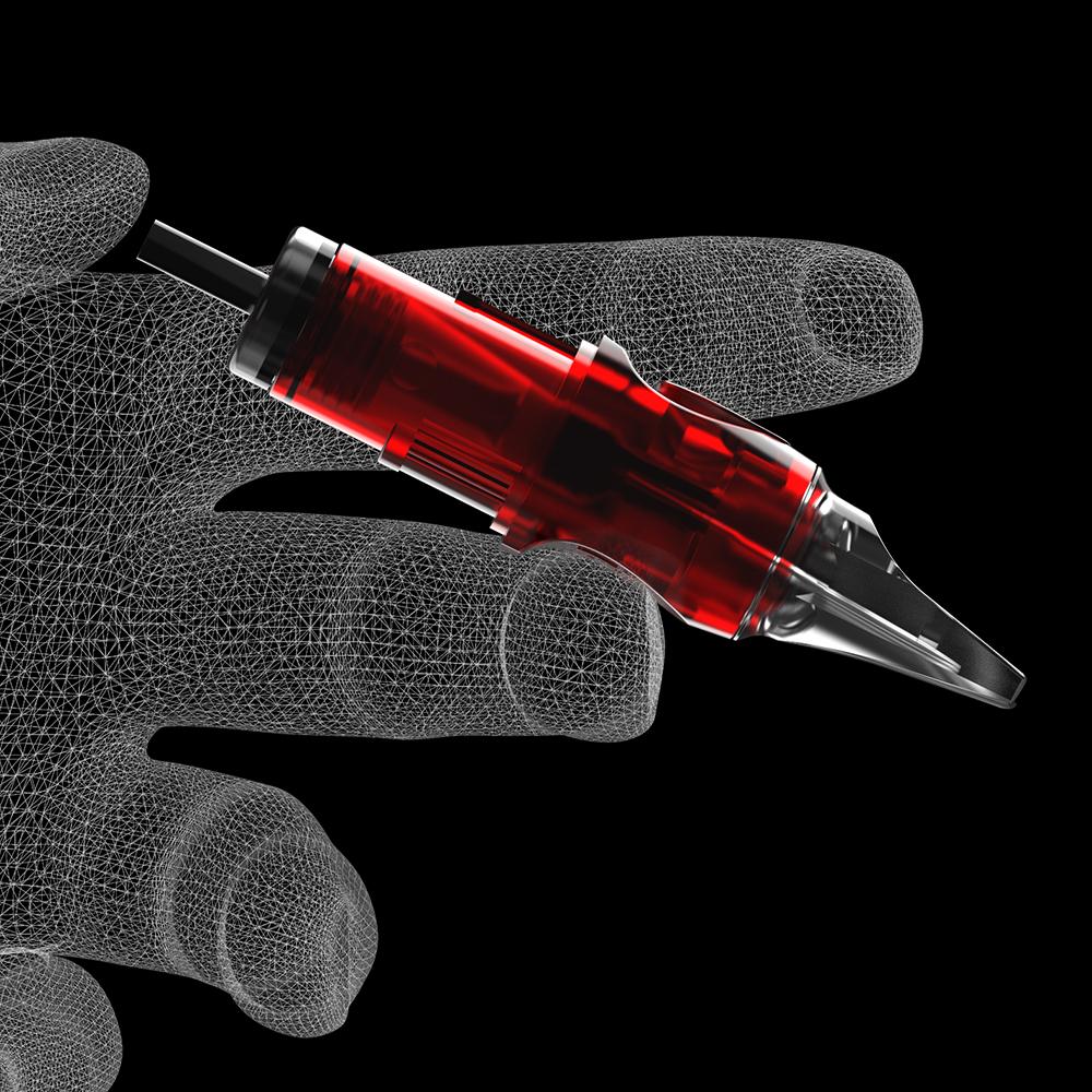 CNC Tattoo Hollow Round Liner Needle Cartridge Police /HRL