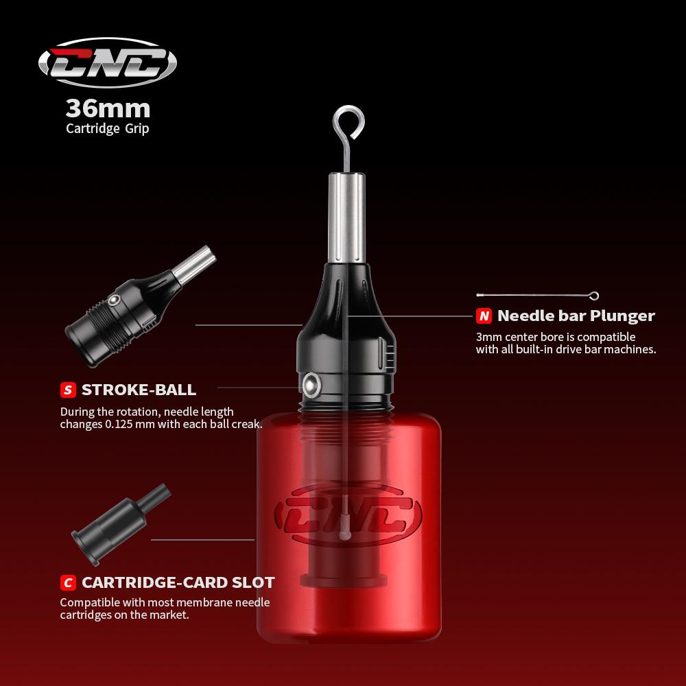 CNC®Tattoo Cartridge Needle Grip G2