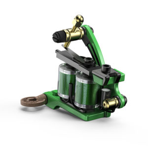 Coil Tattoo Machine CNC Green Pigeon M310 Main 2