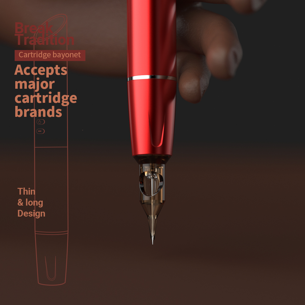 details of package information of RHEIN Wireless Permanent makeup & Tattoo Pen RITA