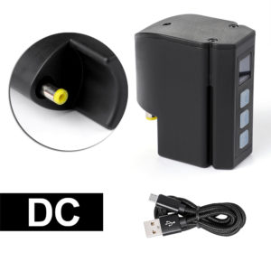 wireless tattoo power supply battery pack dc connector