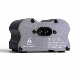 Tattoo power supply wide range voltage control