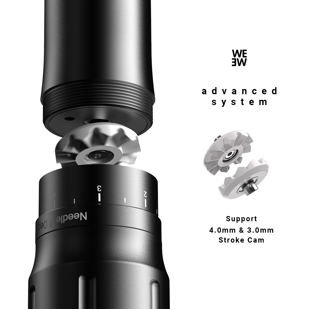 WE-kit Wireless tattoo machine details