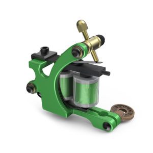 coil tattoo machine CNC Green pigeon M310